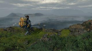 Death Stranding landscape viewpoint image
