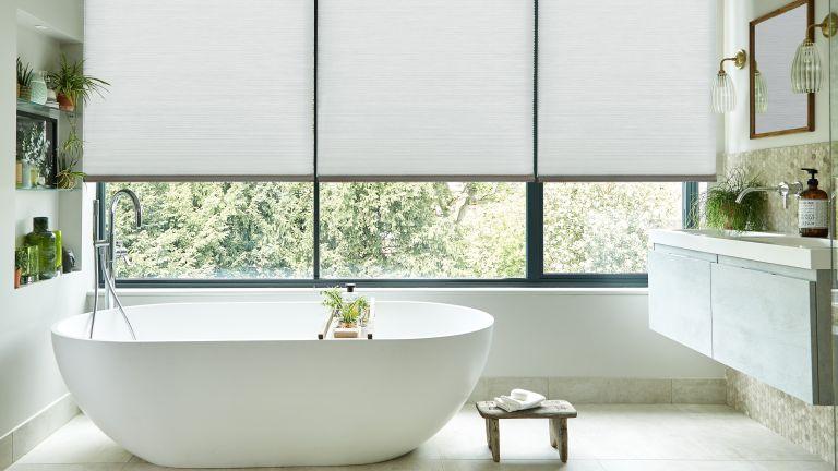 Bathroom blinds by Thomas Sanderson