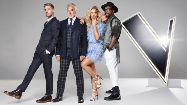 The Voice coaches (BBC)