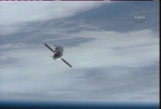 Space Station Clears Docking Port for Arriving Spaceflyers