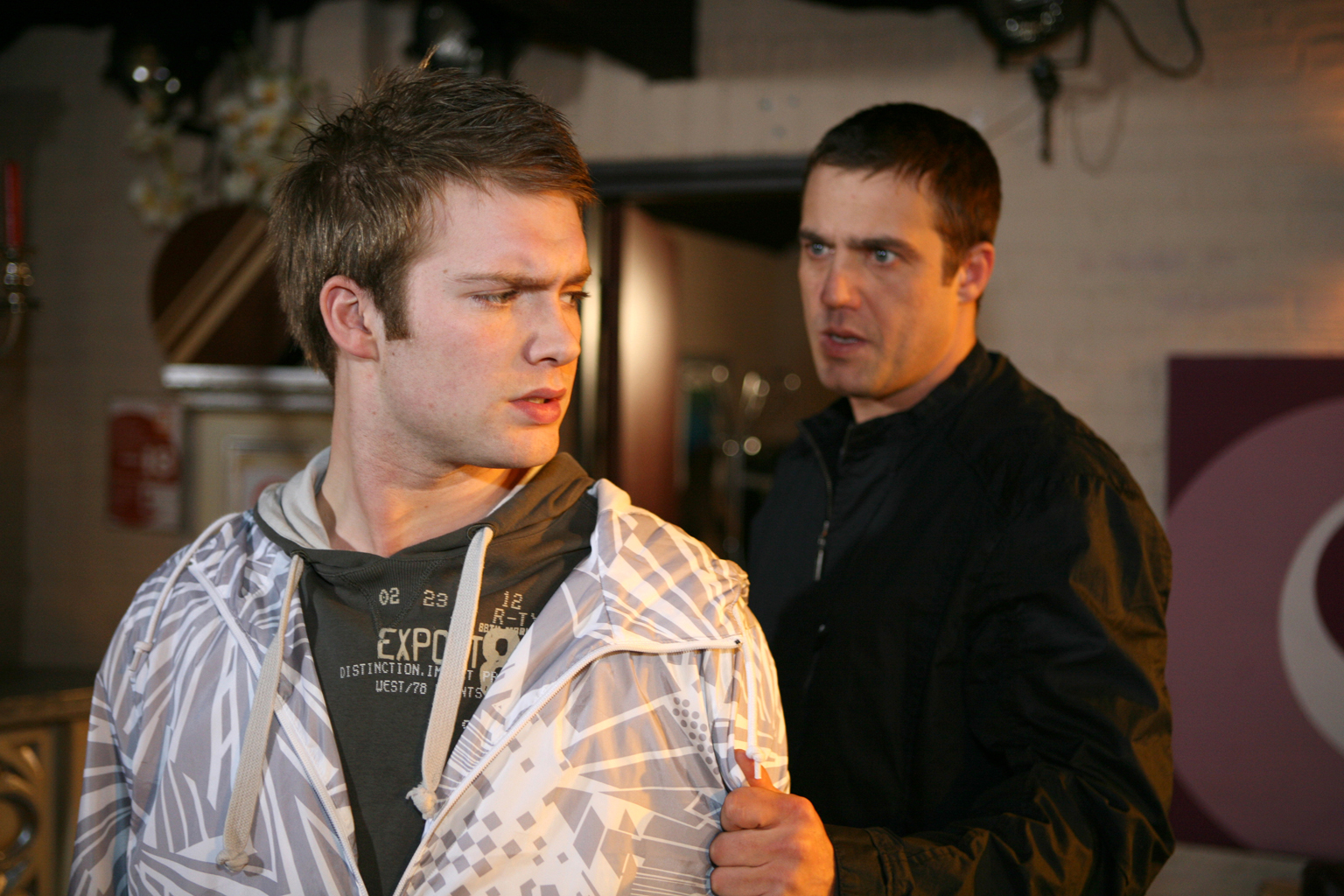 Jamie and Chris to quit Hollyoaks