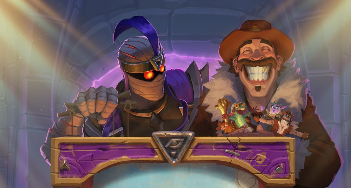 Hearthstone had a VR prototype that let you throw cards and flip the table