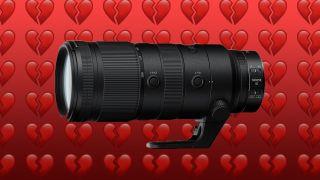 Nikon ruins Valentine's Day: Nikon 70-200mm f/2.8 Z lens indefinitely delayed