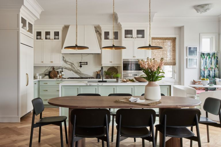 Modern home with cali style mixed with classic British design