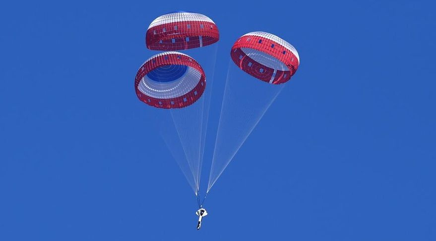 Parachute Development a Challenge for Commercial Crew