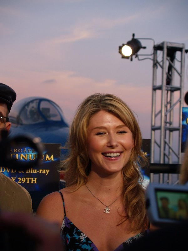 Comic Con: Aircraft Carrier Premiere Of Stargate Continuum #2868