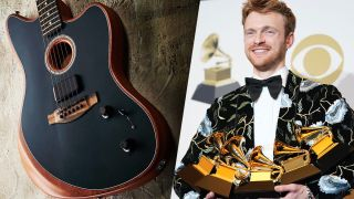 Fender American Acoustasonic Jazzmaster and Finneas