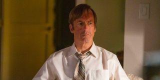 Bob Odenkirk as Jimmy McGill/Saul Goodman on Better Call Saul (2020)