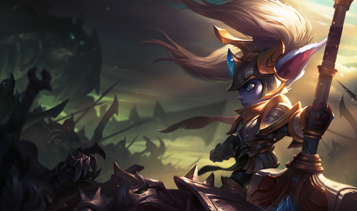 League Of Legends' Long-Overdue Rework For Poppy Looks Awesome #35027