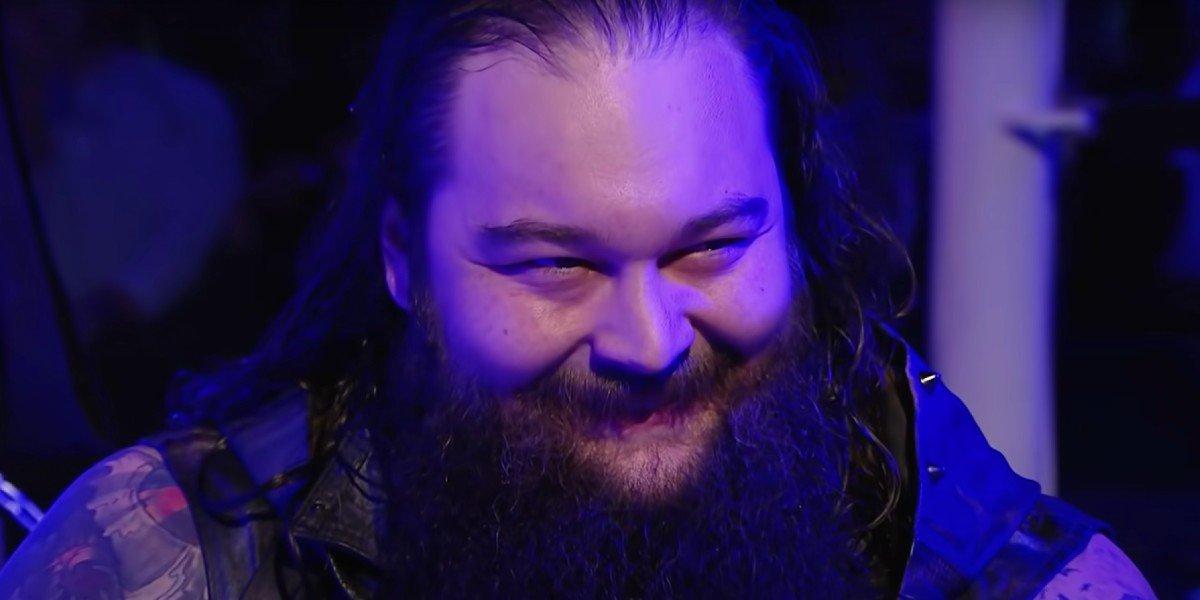 WWE Bray Wyatt smiling