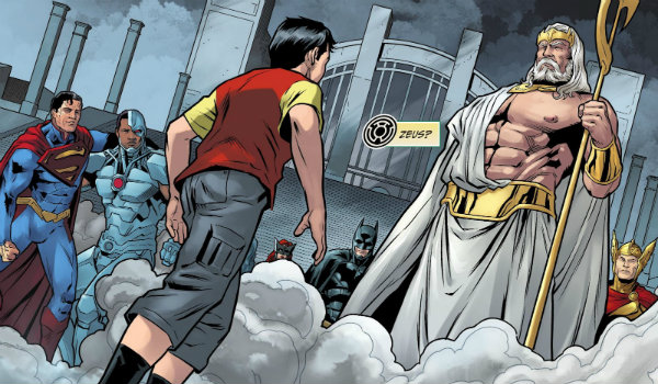 Zeus DC Comics