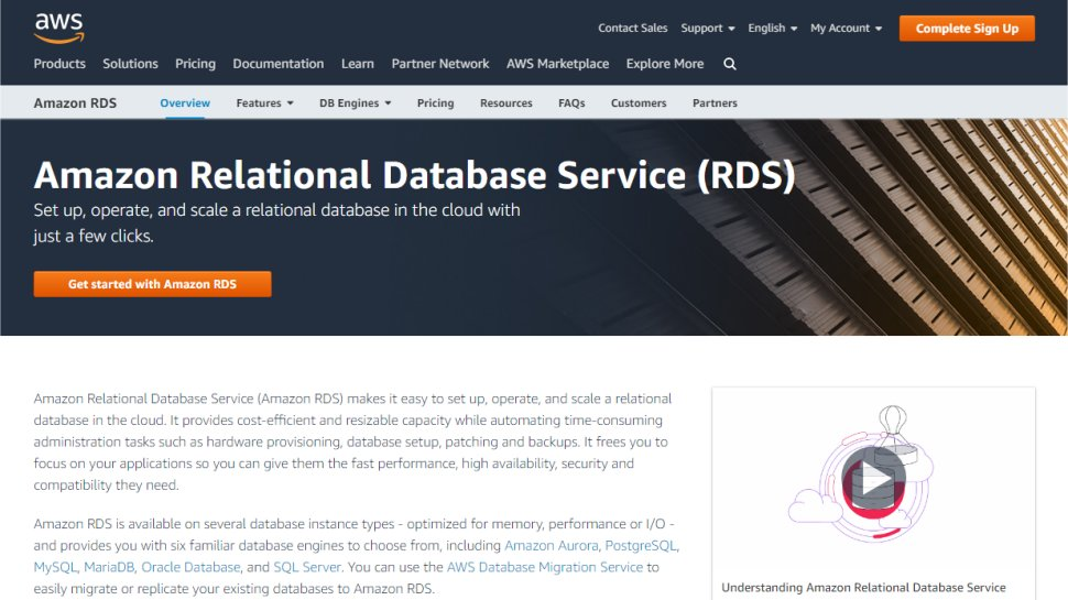 Amazon Relational Database Services
