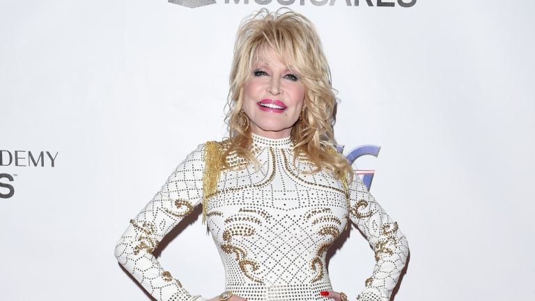 Dolly Parton attends MusiCares Person of the Year honoring Dolly Parton at Los Angeles Convention Center