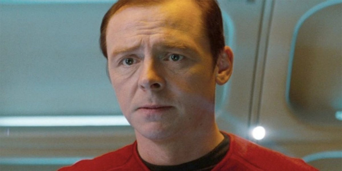 Simon Pegg Star Trek