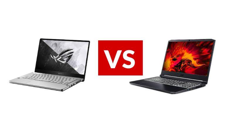 Asus ROG Zephyrus G14 vs Acer Nitro 5