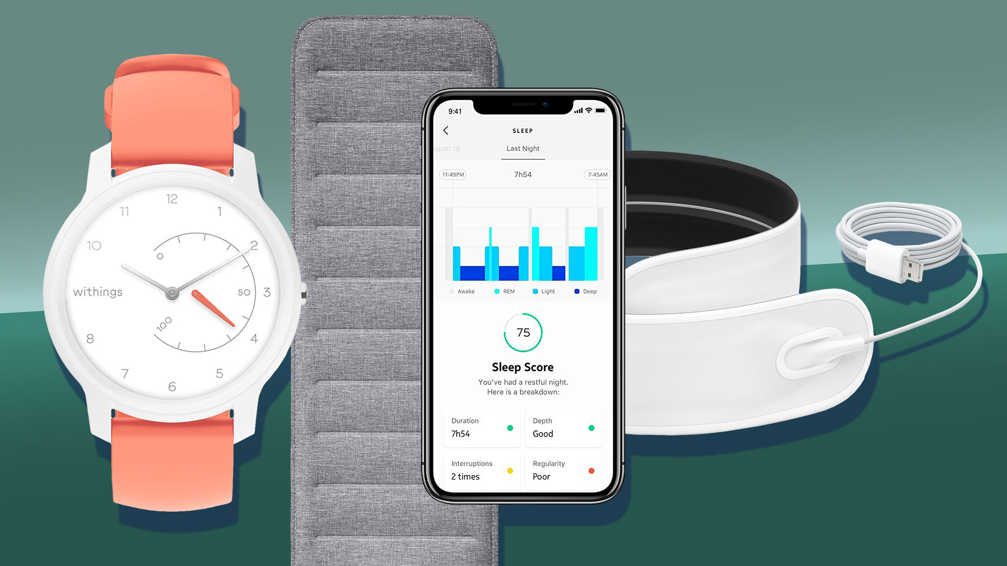 The best sleep tracker 2020: top gadgets to record your beauty sleep |  TechRadar