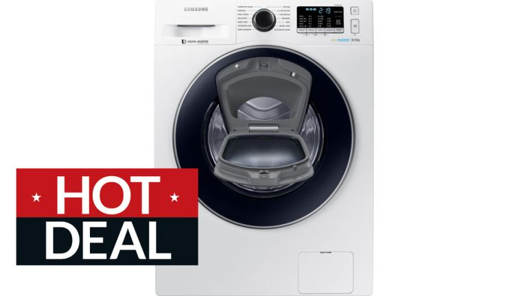SAMSUNG AddWash WW80K5410UW 8 kg 1400 Spin Washing Machine