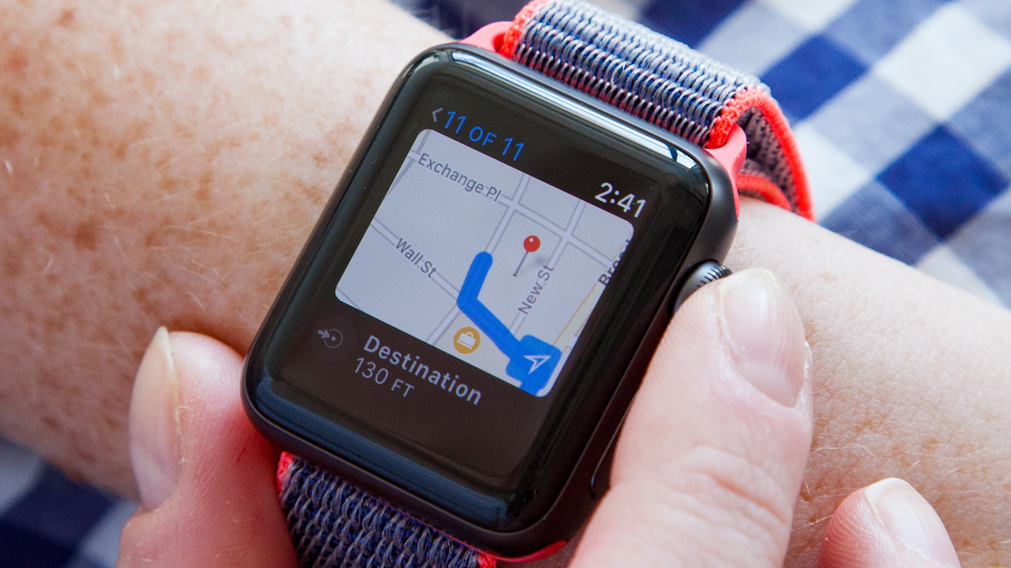la meilleure Apple Watch.  Apple Watch série 3:
