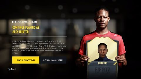 The Biggest New Feature In FIFA 17 Is Its Mass Effect Inspired Story Mode Named Journey Which Follows Fictional Character Alex Hunter His Quest To
