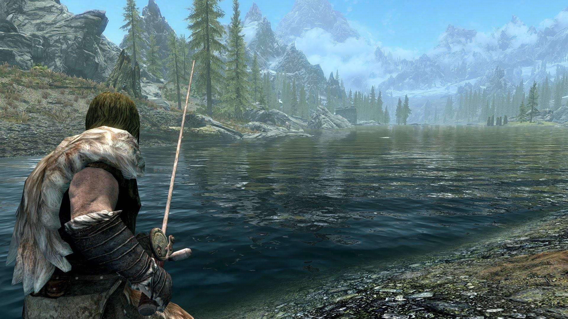 Skyrim Special Edition mods - Skyrim Fishing