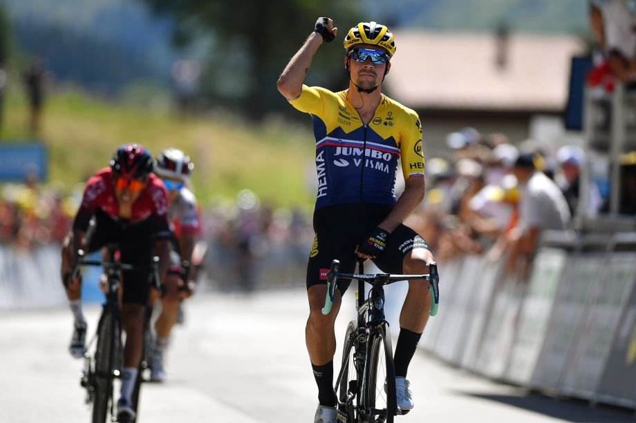 Primoz Roglic Beats Egan Bernal In Jumbo Visma Masterclass On Tour De L Ain Stage Two Cycling Weekly