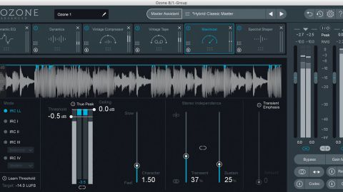iZotope Ozone 8 Advanced | MusicRadar