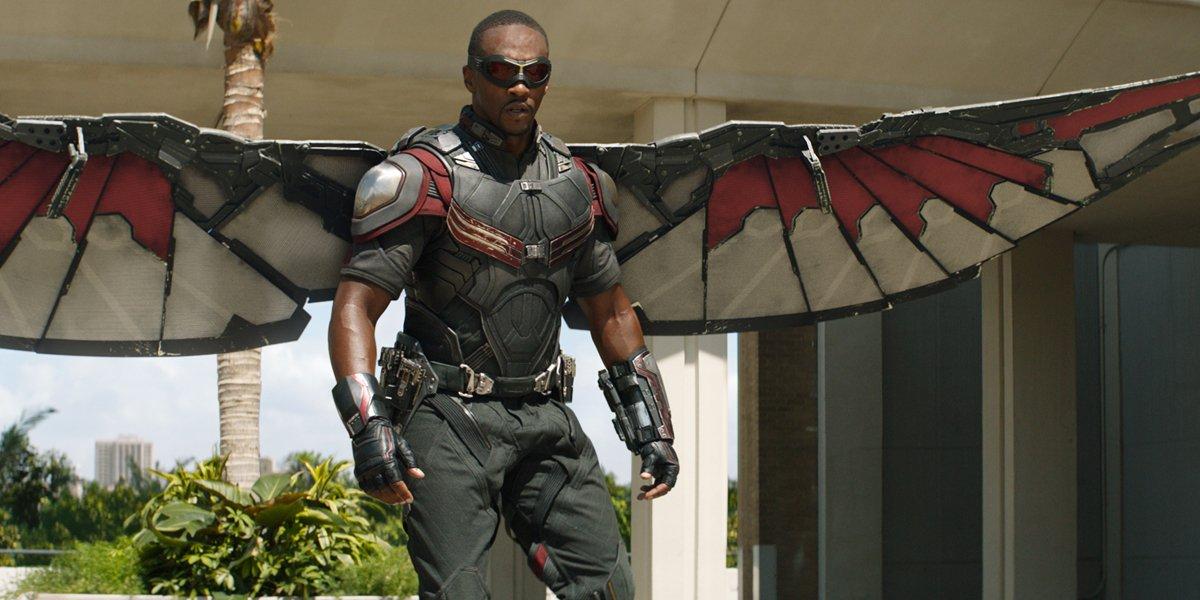 Falcon in Captain America Civil War