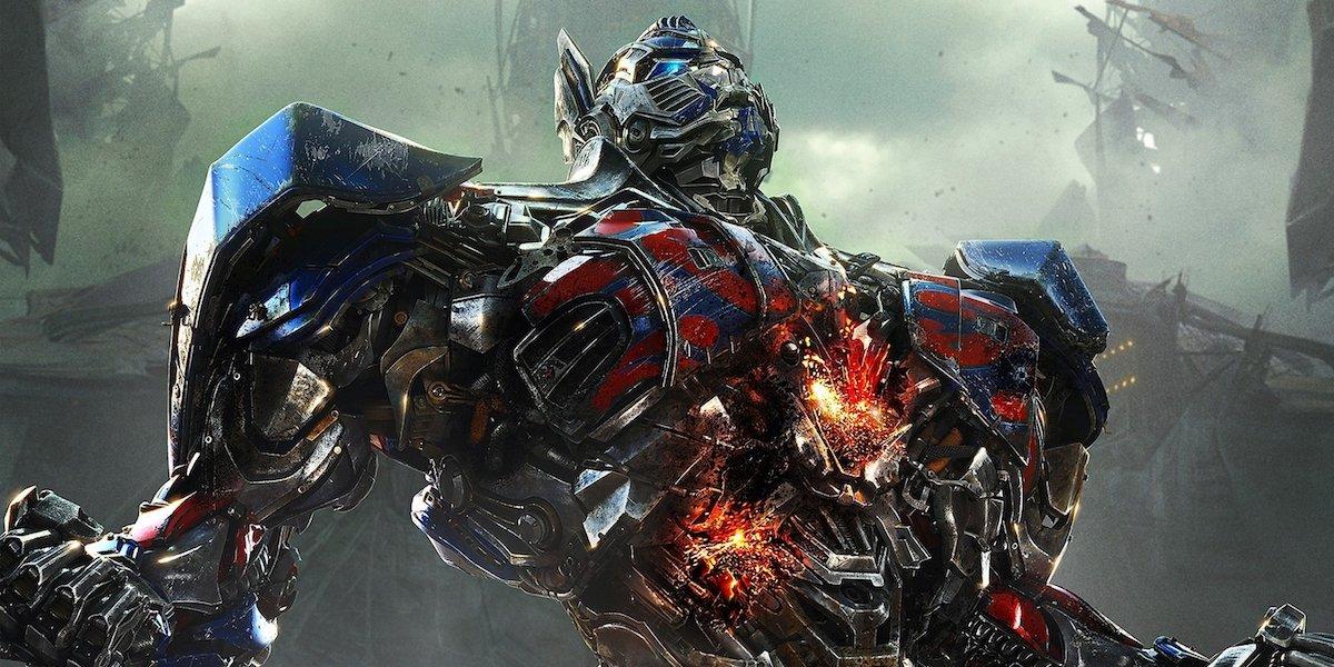 Optimus Prime in Transformers movie