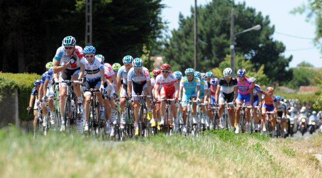 Omega leads, Tour de France 2011, stage one