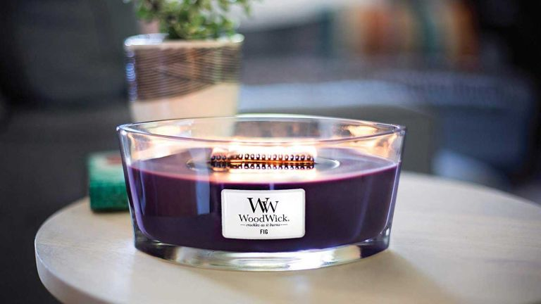 Valentine's Day: Woodwick Ellipse Scented Candle Fig