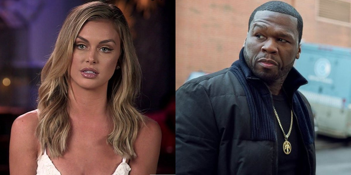 lala kent and 50 cent still feuding with one another after Randall Emmett Fofty mistake