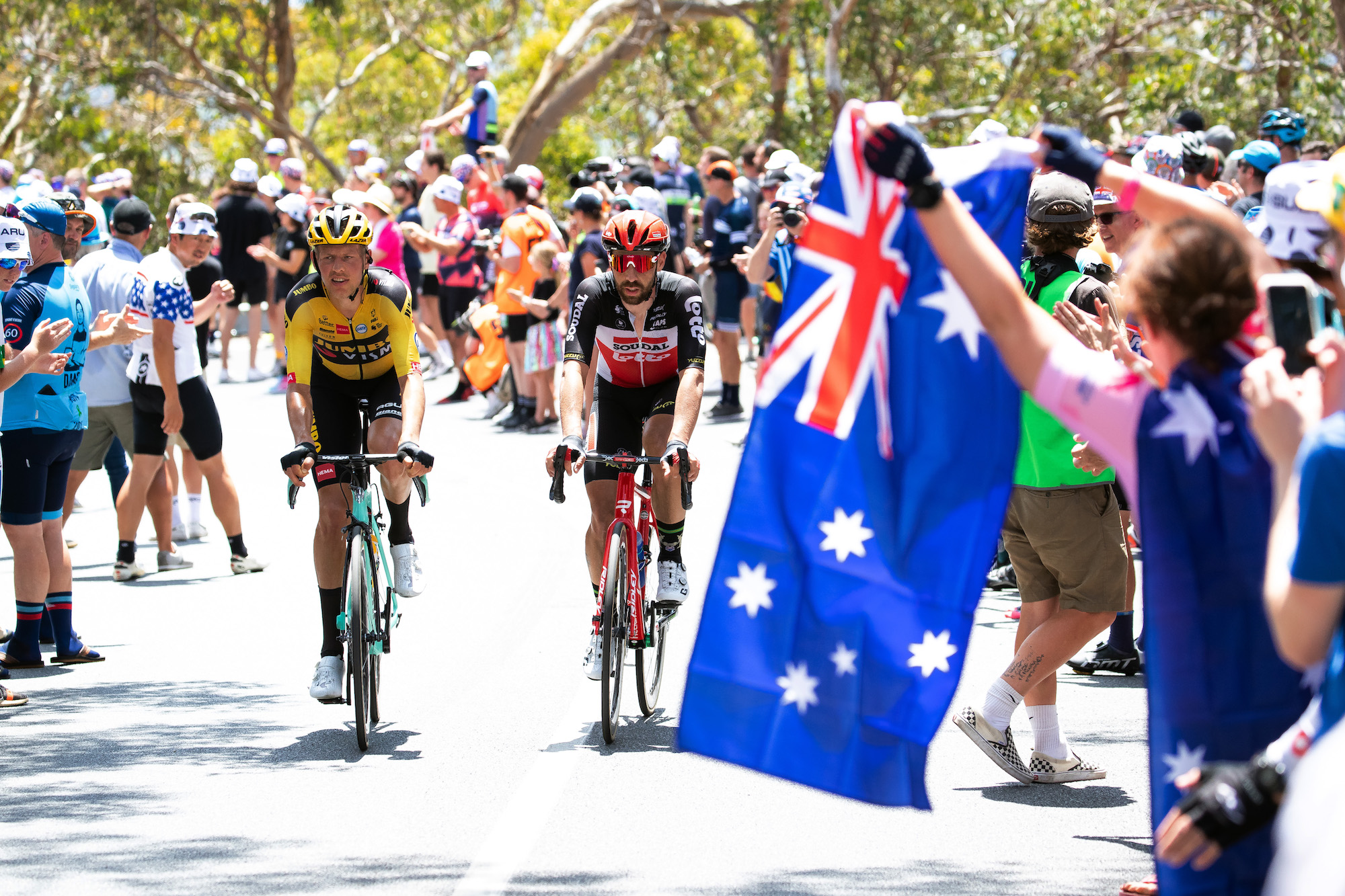 Tour Down Under - cover