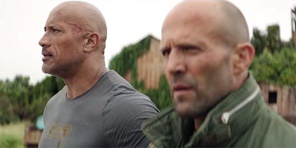 Hobbs & Shaw Dwayne Johnson The Rock Jason Statham