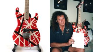 Eddie Van Halen Kramer electric guitar