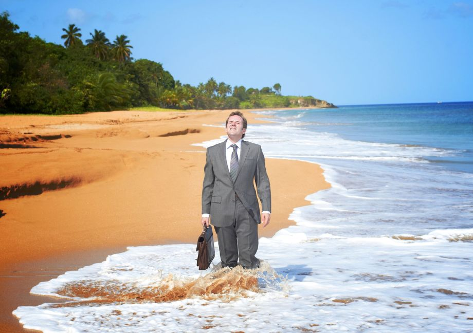 Death in Paradise DI Richard Poole
