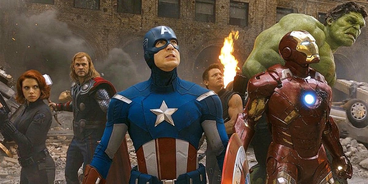 The Avengers in The Avengers