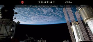 The Pink Floyd website DivisionBell20.com uses stunning views of Earth from the International Space Station as part of its countdown to a May 20, 2014 launch.