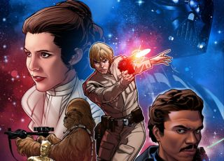 "Marvel's ""Star Wars"" comic book series will relaunch in January 2020 with all new adventures."