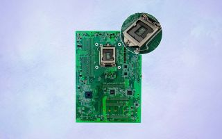 Enctec reverse-socket motherboard