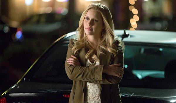 Claire Holt folds arms Rebekah Mikaelson The Originals The CW