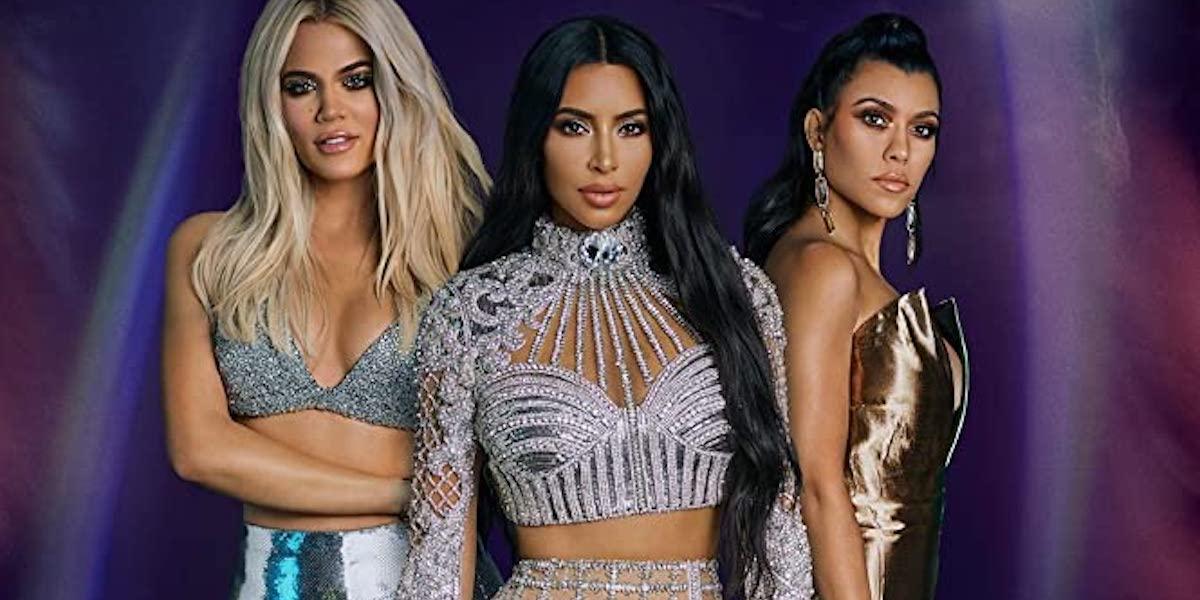 Khloe, Kim and Kourtney Kardashians in Season 18 poster