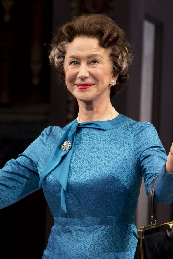 Dame Helen Mirren is currently starring as the Queen in The Audience on Broadway (Greg Allen/Invision)