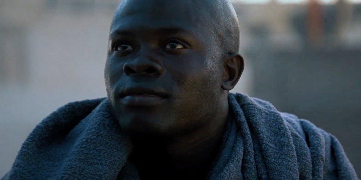 Djimon Hounsou in Gladiator