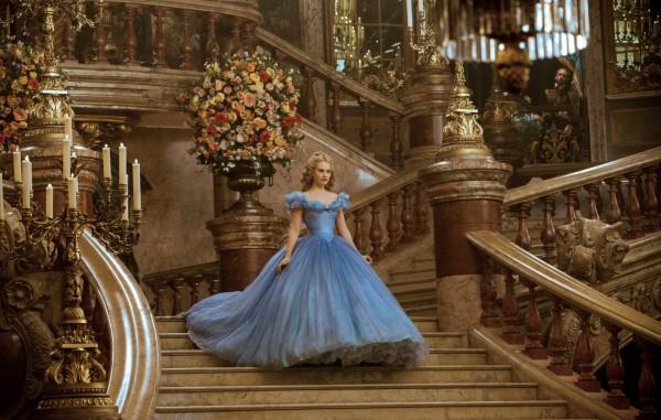 Lily James in Cinderella