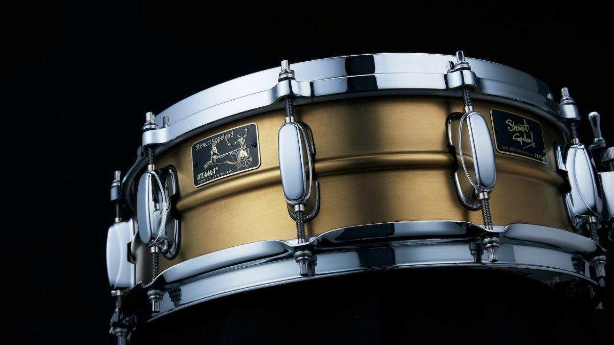 Tama announces Stewart Copeland 40th Anniversary Signature Snare
