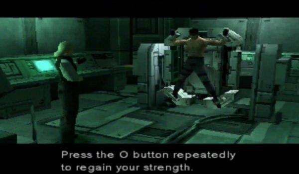 Metal Gear Solid Ocelot Torture Scene