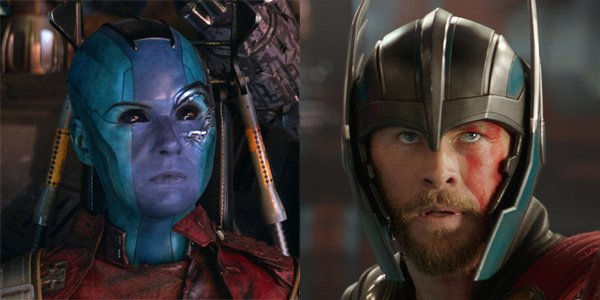 Nebula and Thor spend time together in Guardians of the Galaxy Vol. 3?