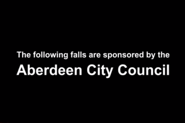 An Aberdeen cyclist has taken to YouTube to highlight the problem of ice on  cycle paths in the city 6eb8df1c9
