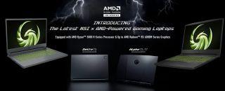 MSI AMD Advantage Gaming Laptops