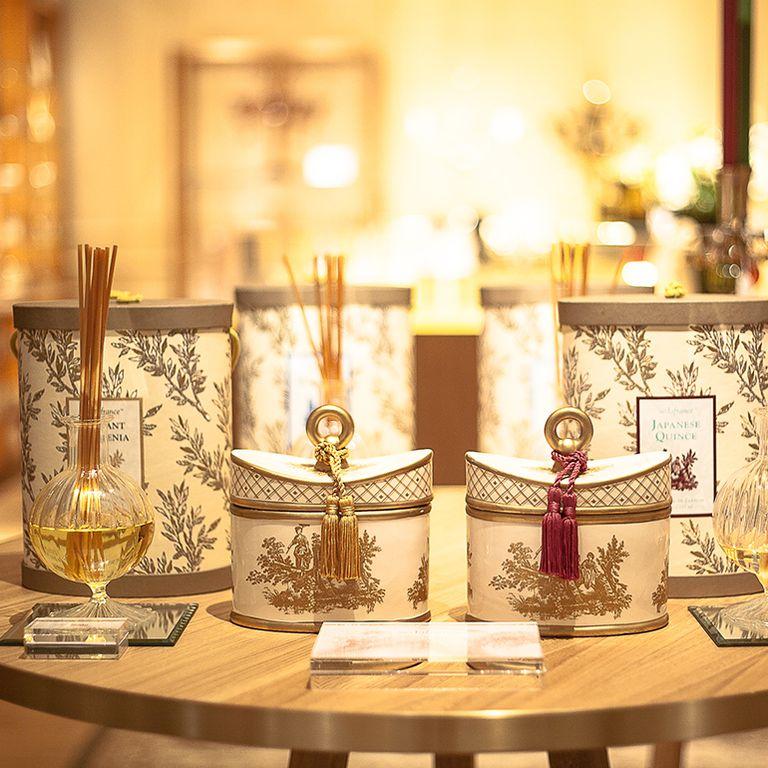 Fortnum & Mason candle room: Baobab Platinum